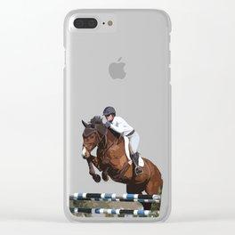 Jumper Clear iPhone Case