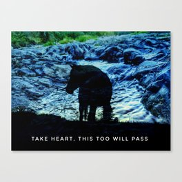 This Too Will Pass Canvas Print