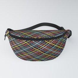 Weave 45 Black Fanny Pack