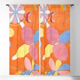 """Hilma af Klint """"The Ten Largest, No. 04, Youth, Group IV"""" Blackout Curtain"""