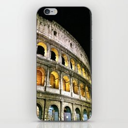 Il Colosseo - The Coliseum at Night (Rome, Italy) iPhone Skin
