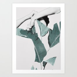 WOMAN 22c Art Print