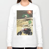 boy Long Sleeve T-shirts featuring Boy by collageriittard