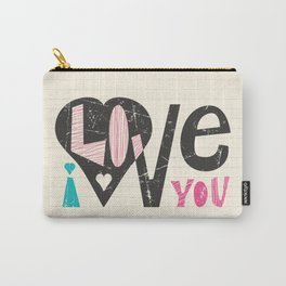 Love Note Carry-All Pouch