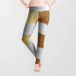 Golden sea Leggings
