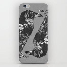 Raven Grey iPhone Skin