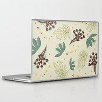 leaf Laptop & iPad Skins featuring leaf by Ceren Aksu Dikenci