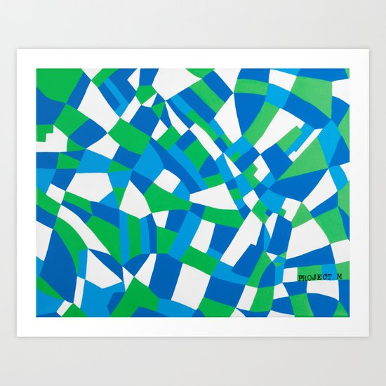 London Green Art Print