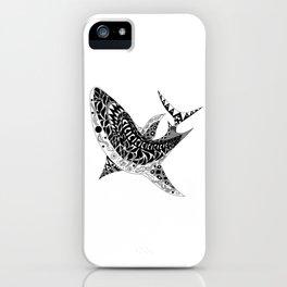 Mr Shark ecopop iPhone Case
