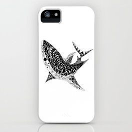 Mr Shark ecopop iPhone Case