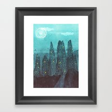 To The City Framed Art Print