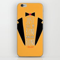 bond iPhone & iPod Skins featuring Municipal Bond by Renata Senna