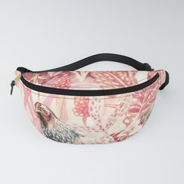 Four Chickens Vintage Fanny Pack