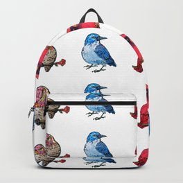 L'il Lard Butts - all the fat birds Backpack