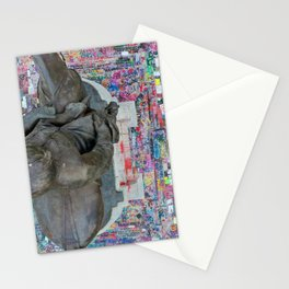 BLM - Robert E Lee - Close Vertical Stationery Cards