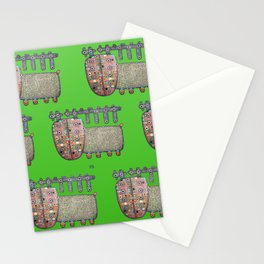 Deer from Norway Stationery Cards
