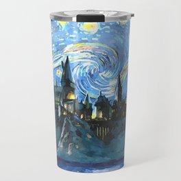 Starry Night in Hogwarts Castle - HP Travel Mug