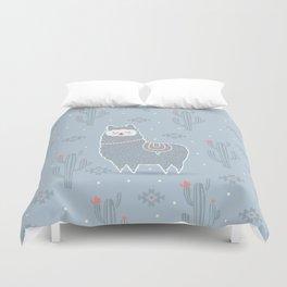 Alpaca winter Duvet Cover