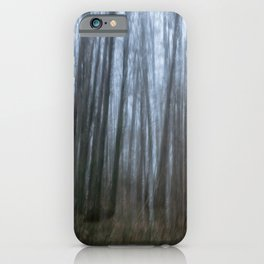 Scary forest iPhone Case