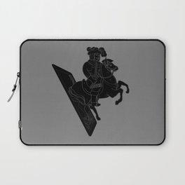 LAST CARD IN THE DECK BLACK Laptop Sleeve