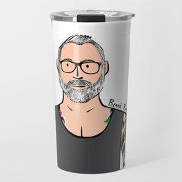 Beard Boy: Brock Travel Mug