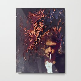 Something In The Way Metal Print