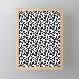BLACK AND WHITE Print Framed Mini Art Print