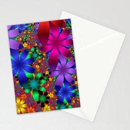 flowerpattern Stationery Cards