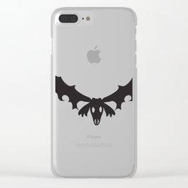 Skull of Irish elk Clear iPhone Case