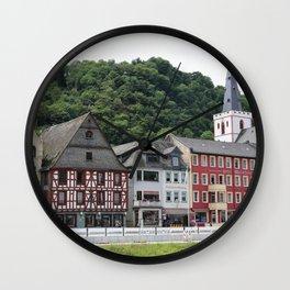 Sankt Goar am Rhein Wall Clock