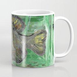 Black Crappie Fish in River Water Coffee Mug