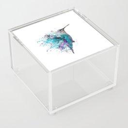 HUMMING BIRD SPLASH Acrylic Box