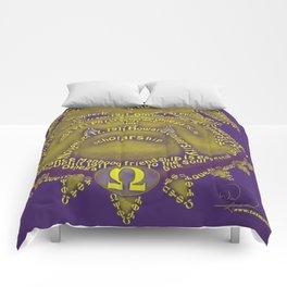 Omega Psi Phi Comforters