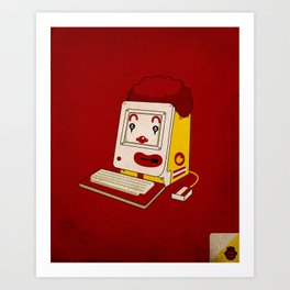 """MAC"" Donalds Art Print"
