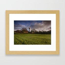 Stanford Mill Framed Art Print