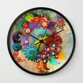 Flute Fruit Wall Clock
