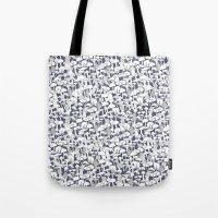 mushrooms Tote Bags featuring Mushrooms by Julia Kisselmann