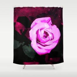 Mystic rose  Shower Curtain