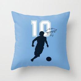 Argentina Número Diez Throw Pillow