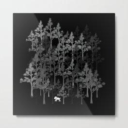 Walker Metal Print