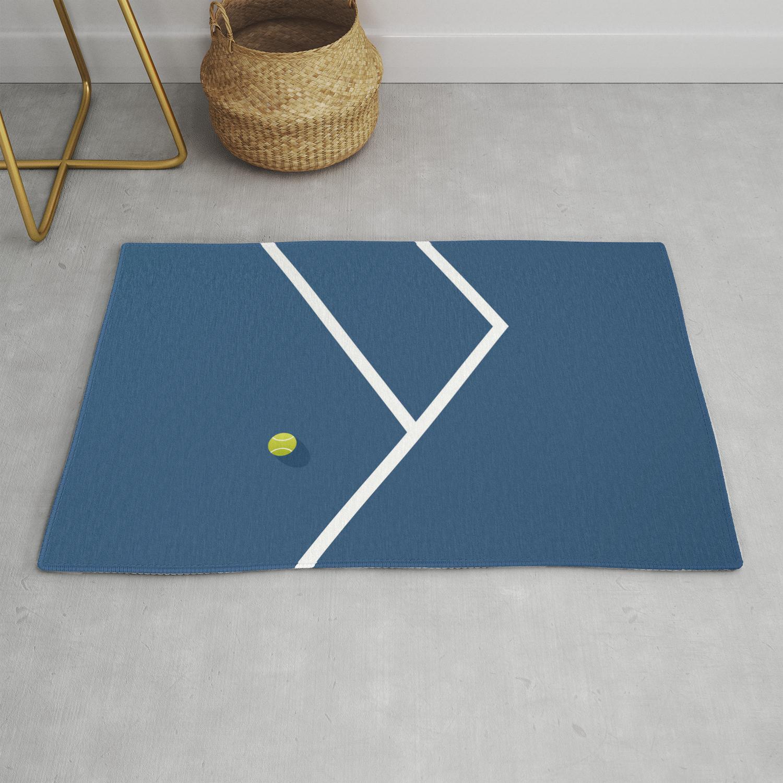 Tennis Court Australia Rug By