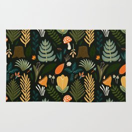 FOREST PATTERN Rug
