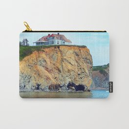 Cliffs of Perce Panoramic Carry-All Pouch