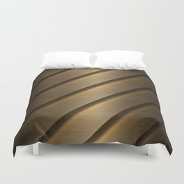 Copper Brass Metal Pipe Duvet Cover