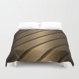 Copper Brass Metal Pipe Duvet Cover