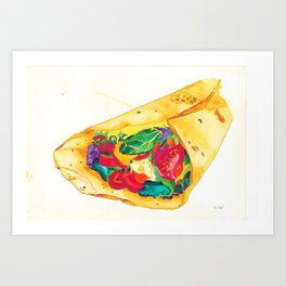 Burrito - Bon Appetit 10/XII Art Print