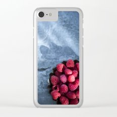Sunlight and Raspberries Clear iPhone Case