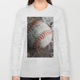 Baseball art Long Sleeve T-shirt