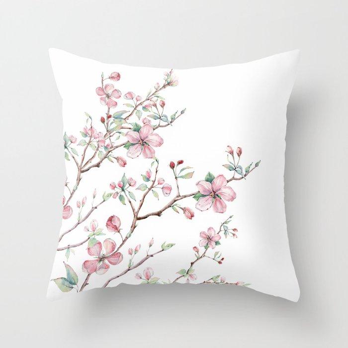 Apple Blossom 2 #society6 #buyart Throw Pillow
