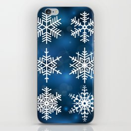 Snowflake collection iPhone Skin